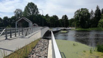 Brudnice – remont mostu i budowa kładek