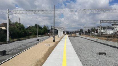 Kutno – budowa peronów